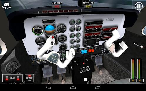 Flight Sim BeachCraft City - screenshot thumbnail