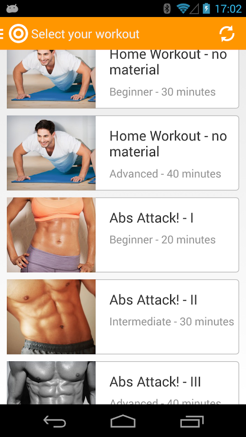 Virtuagym Fitness Home & Gym - screenshot