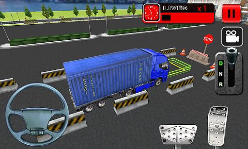 重型卡車停車場模擬器