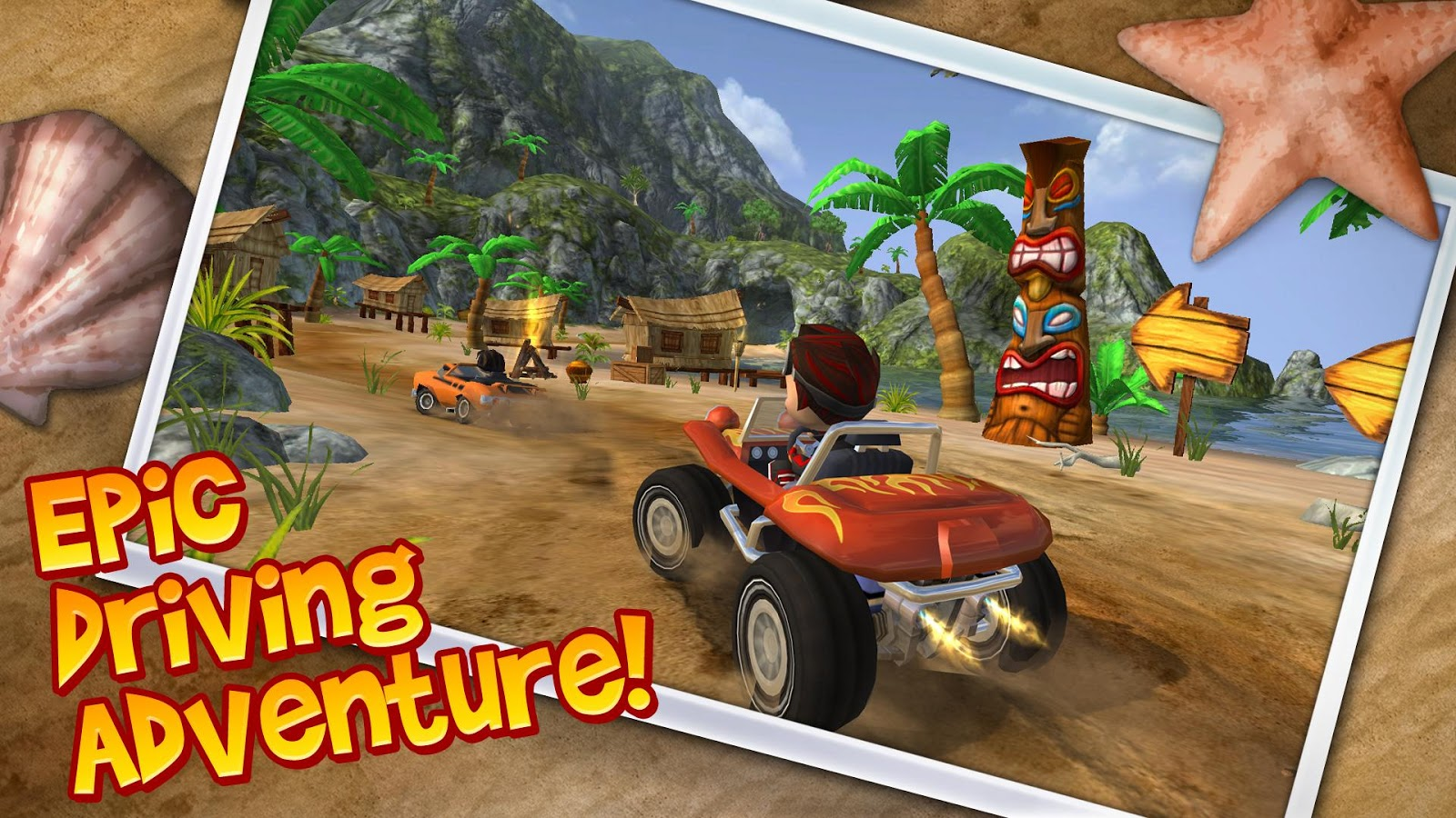 Beach Buggy Blitz – скриншот