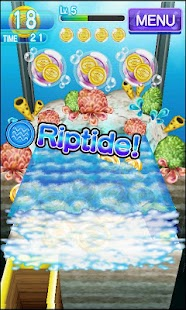 Coin Drop AQUA Dozer Games - screenshot thumbnail