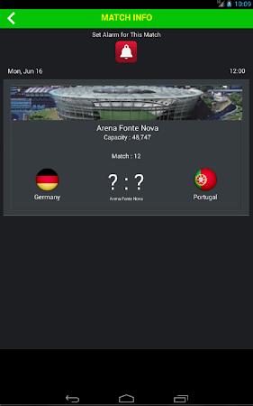 Football World Cup Live Score 1.6 screenshot 58193