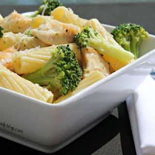 Restaurant Style Chicken Broccoli Ziti.