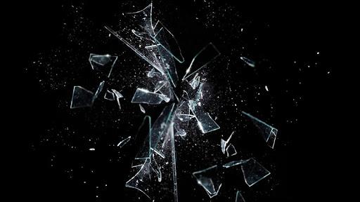 碎玻璃壁紙