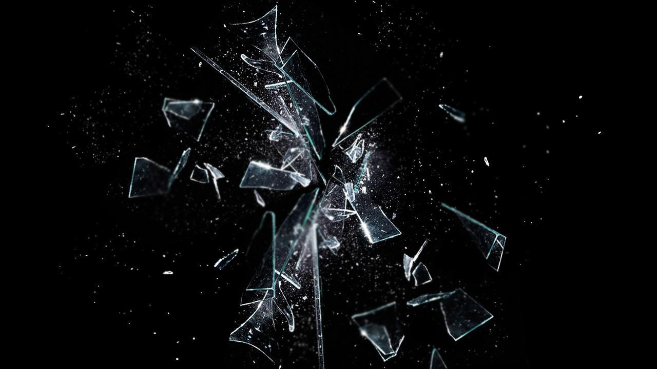Broken Glass Wallpaper K
