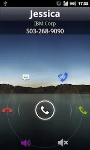 Rocket Caller ID CC Theme- screenshot thumbnail