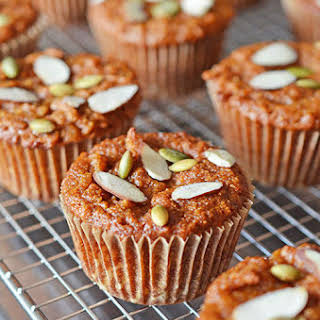 Paleo Pumpkin and Carrot Muffins.