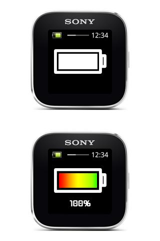 Custom Battery for SmartWatch - screenshot