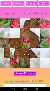 Butterfly Photo Puzzle Screenshot 3