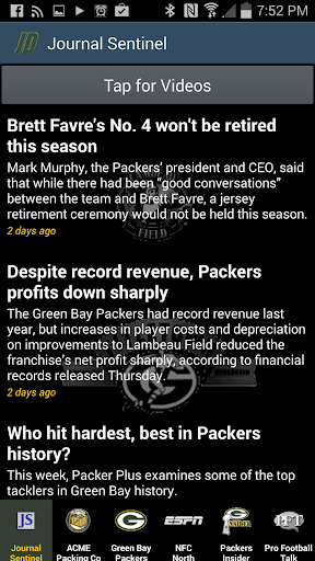Green Bay Packers News By JD