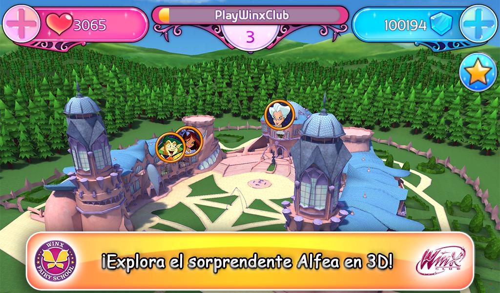 Winx Club Winx Fairy School  Aplicaciones de Android en Google Play