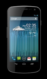 Weather Clock Widget - screenshot thumbnail