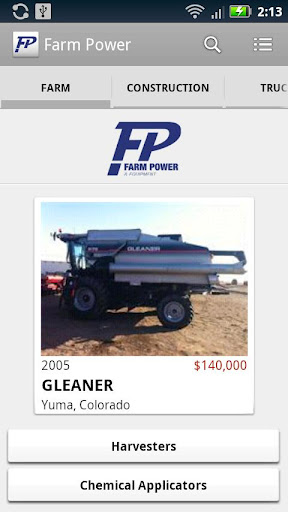 Farm Power Equipment