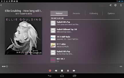 TuneIn Radio Pro Screenshot 1