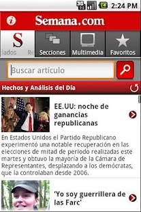 Semana.com - screenshot thumbnail