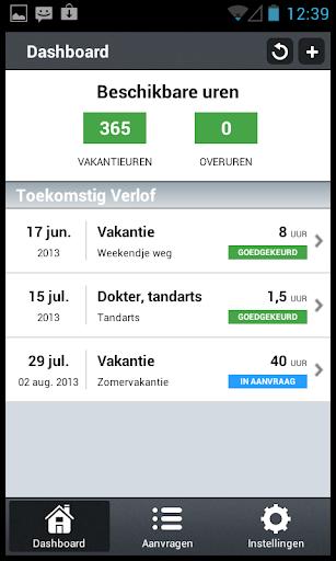 VerlofApp - Verlofregistratie