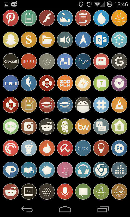 Simple Rounds Lite - Icon Pack- screenshot