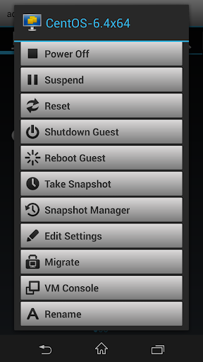 vmwPAD screenshot