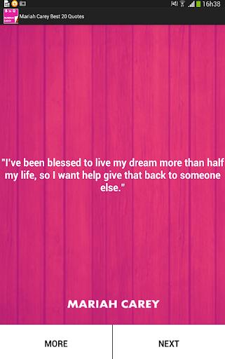 Mariah Carey Best 20 Quotes