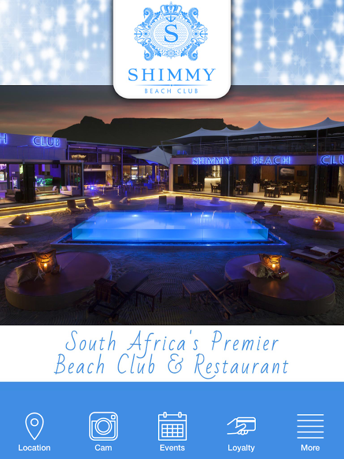 Shimmy Beach Club Cape Town- screenshot