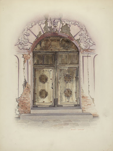 Doorway and Wall Painting