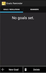Goals Reminder - screenshot thumbnail