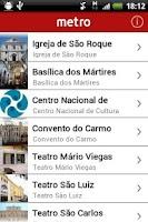 Screenshot of Lisbon Metro | Official App