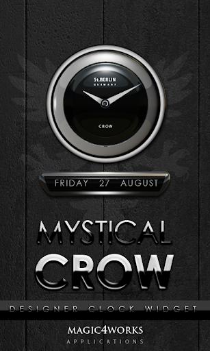 Crow designer Clock Widget