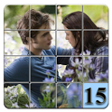 15 puzzle Twilight icon