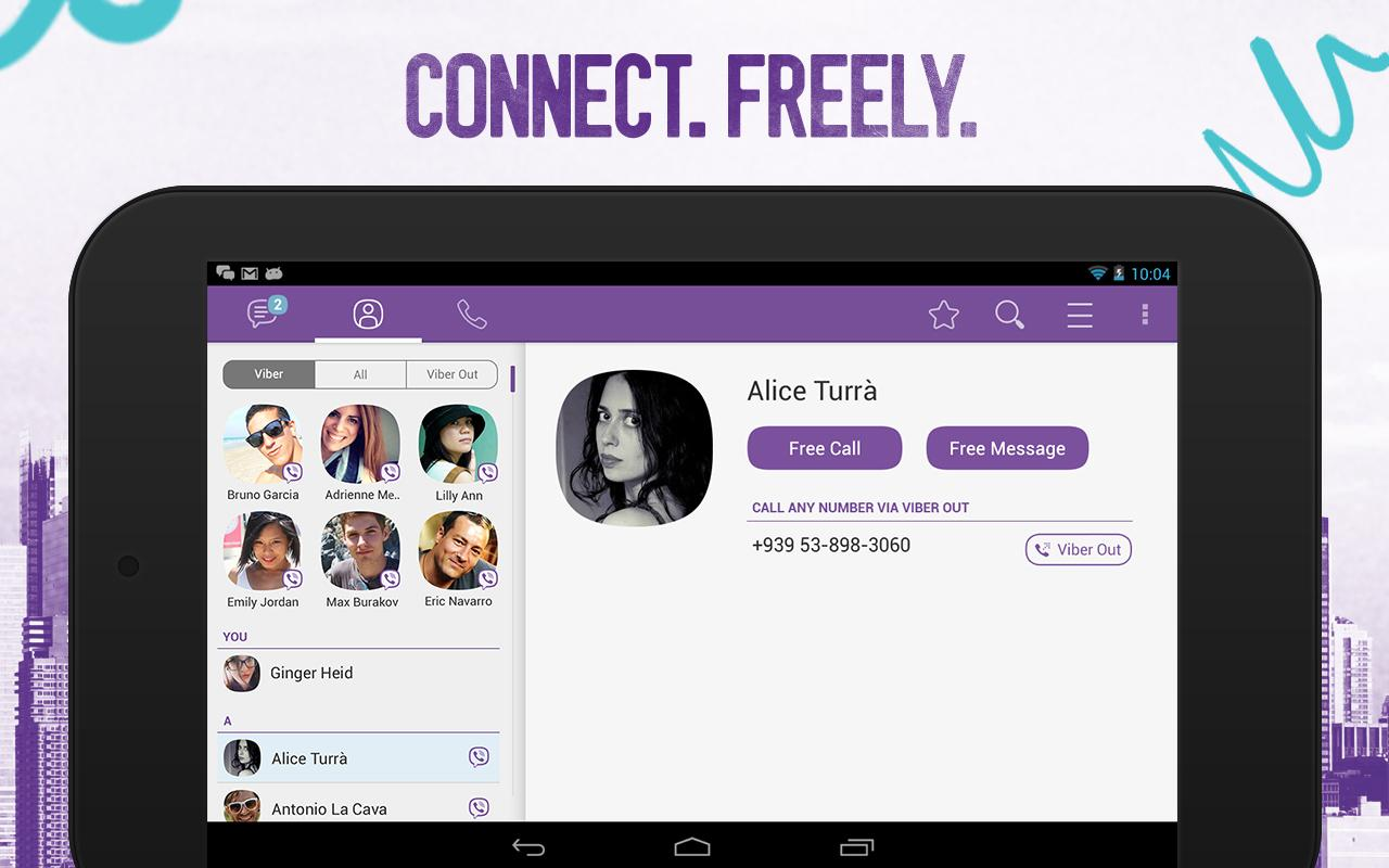 how to change phone number in viber android