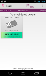 M-Ticket- screenshot thumbnail