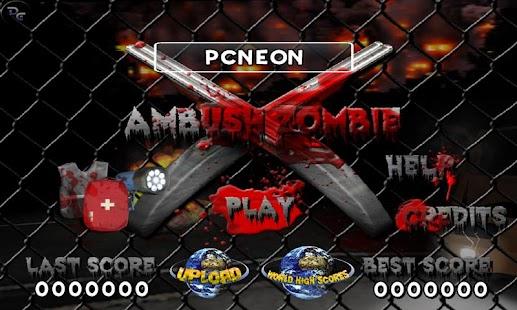 Ambush Zombie Free - screenshot thumbnail