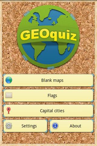 GEOquiz- screenshot