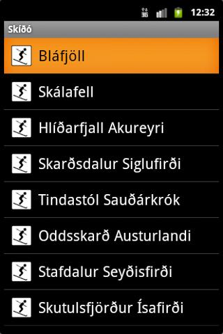Skíðó - screenshot