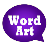 WordArt Chat Sticker V