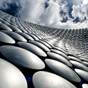 Selfridges Birmingham  by Kevin Morris - Buildings & Architecture Architectural Detail ( birmingham, silver, selfrdges, shopping, city )
