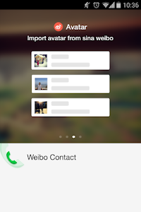 weibo contact v2.0.0