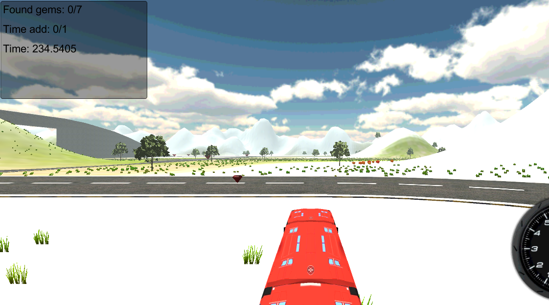 Bus Race Simulator 3D - screenshot