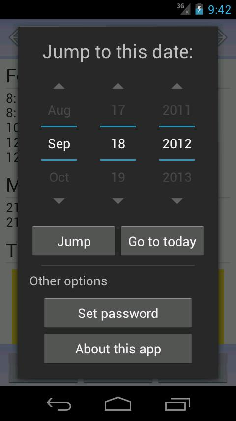 My IBS Diary- screenshot
