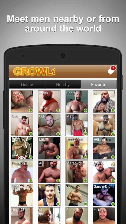 GROWLr: Gay Bears Near You- screenshot