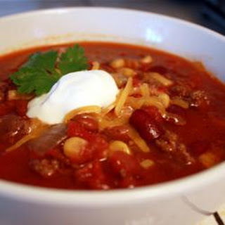 Slow Cooker Taco Soup.