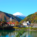 Tanzawa Lake and Mt.Fuji