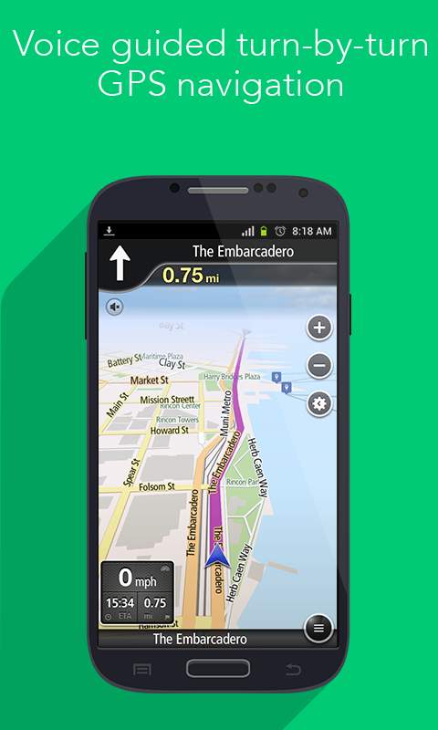 Navfree USA: Free Satnav - screenshot