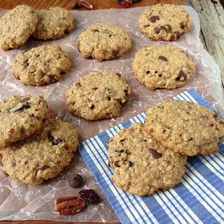 Cherry Chocolate Oatmeal Cookies