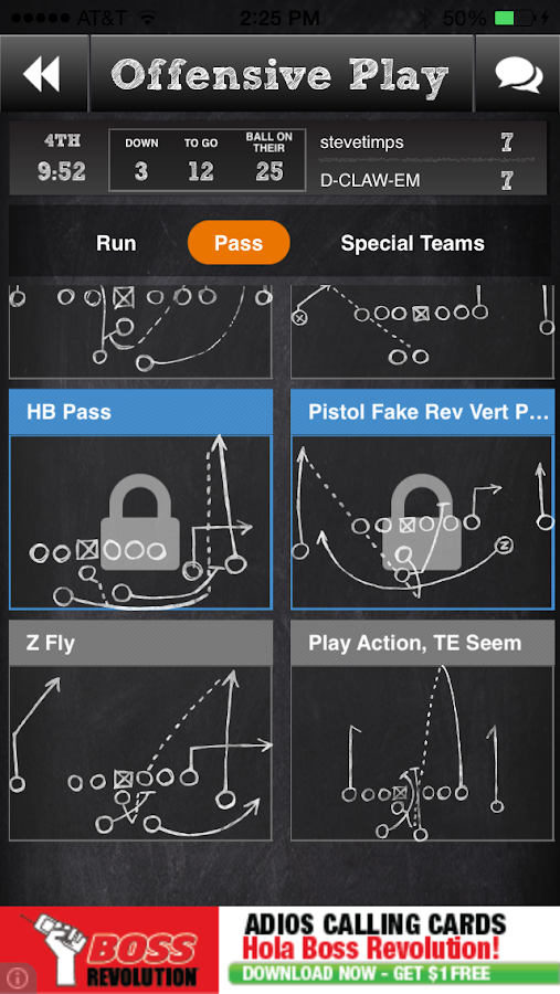 Vs. Football - screenshot
