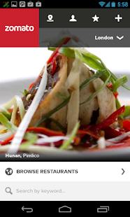 Zomato - Restaurant Finder - screenshot thumbnail