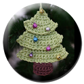 Crochet Tree and Wreath icon