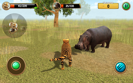 Android/PC/Windows用Wild Tiger Simulator 3D ゲーム (apk)無料ダウンロード screenshot