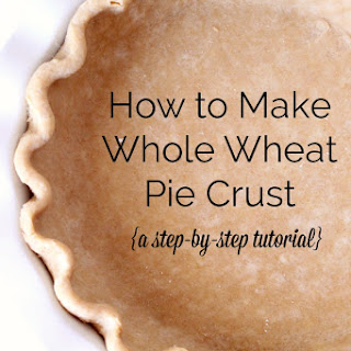 How to Make Whole Wheat Pie Crust