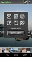 Screenshot of fotodanz
